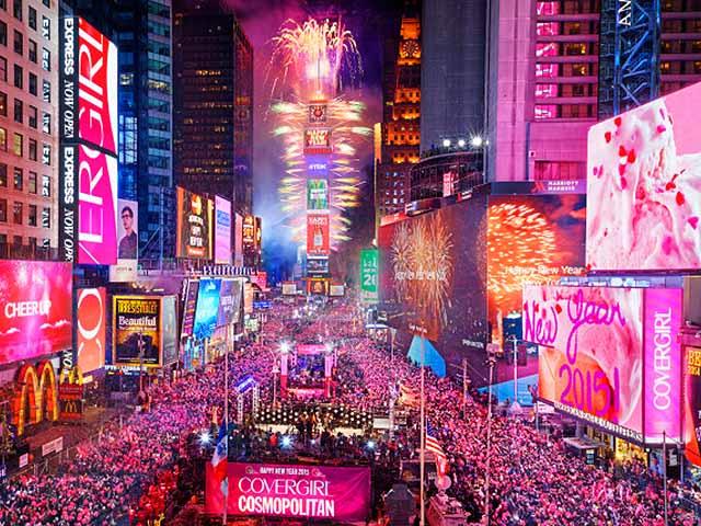 纽约出发跨年倒数7日游:NY7-8849