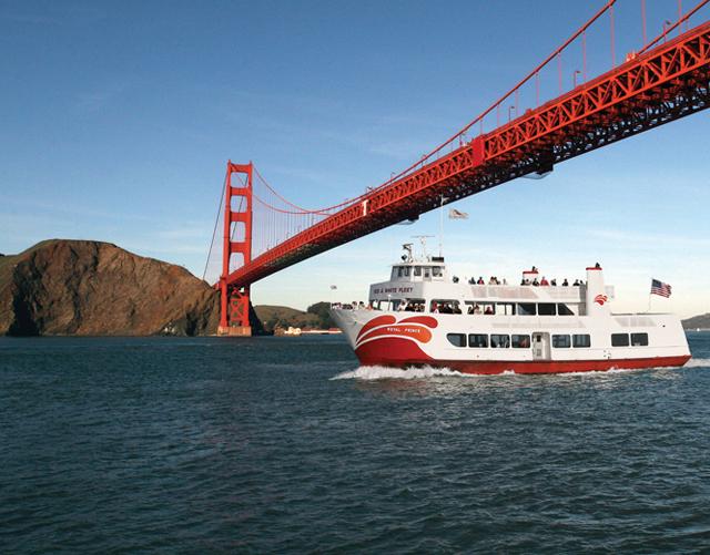 旧金山出发游船观光1日游:SF-T-2316