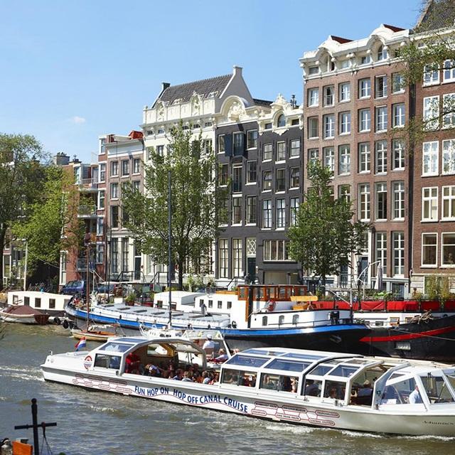 阿姆斯特丹出发景点门票、游船观光1日游:AM-T-1456