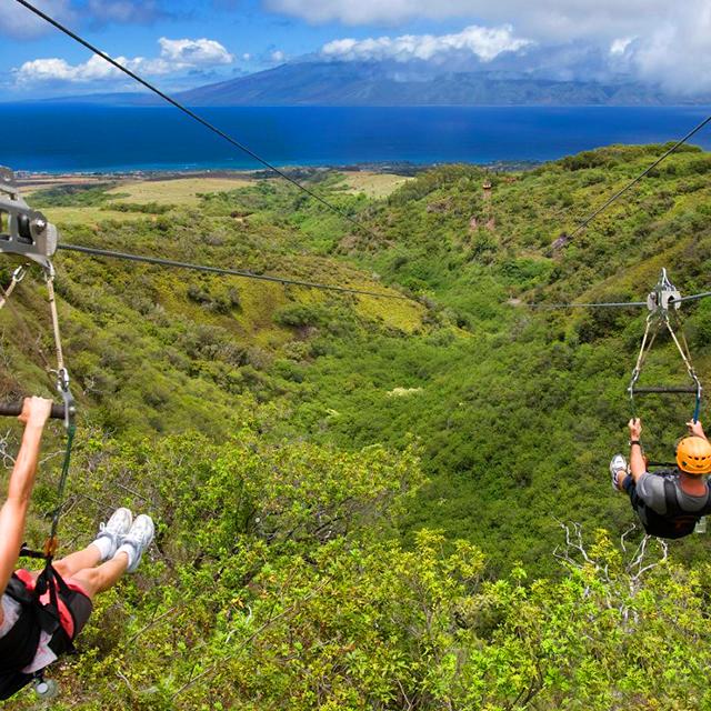 茂宜岛出发冒险运动1日游:HO-T-1181