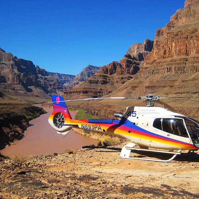 拉斯维加斯出发大峡谷、空中观光、游船观光1日游:LV-T-1170