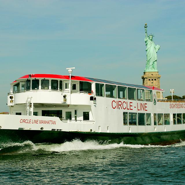 纽约出发游船观光1日游:NY-T-863