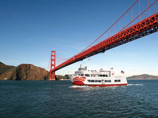 旧金山出发游船观光1日游:SF-T-7521
